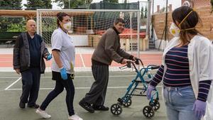 Residències de discapacitats i salut mental, abandonades pel Govern durant la pandèmia