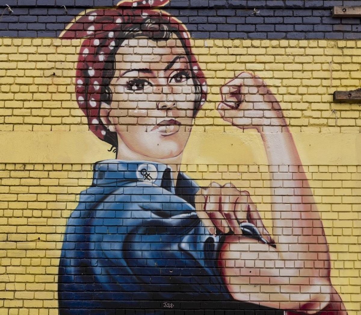 Imagen icónica del feminismo.