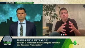 Íñigo Errejón en 'La Sexta noche'.