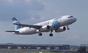 A still image from video released May 19, 2016 shows EgyptAir Airbus A320 SU-GCC taking off at Brussels, Belgium, September 26, 2015.     Mandatory credit The YottaTube/via REUTERS TV     ATTENTION EDITORS - THIS IMAGE WAS PROVIDED BY A THIRD PARTY. EDITORIAL USE ONLY. NO RESALES. NO ARCHIVE. REUTERS IS UNABLE TO INDEPENDENTLY VERIFY THIS IMAGE.