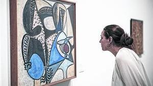 'Le coq saigné', el 'picasso' que Tàpies va conservar i que llueix a la mostra.