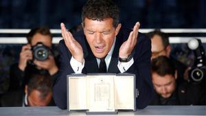 Antonio Banderas, premio al mejor actor en el 72 Festival de Cannes.