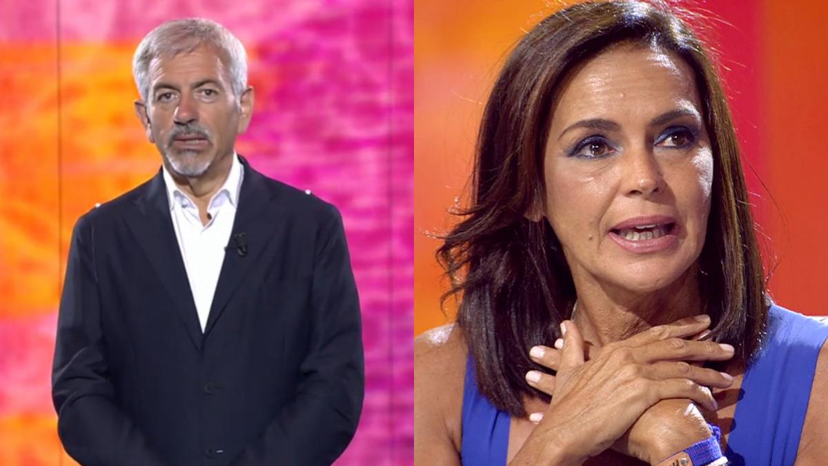 Carlos Sobera defiende el especial de Olga Moreno