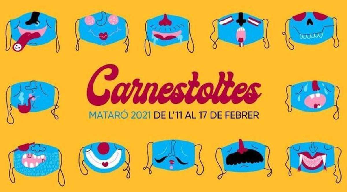 Cartel del Carnaval de Mataró 2021.
