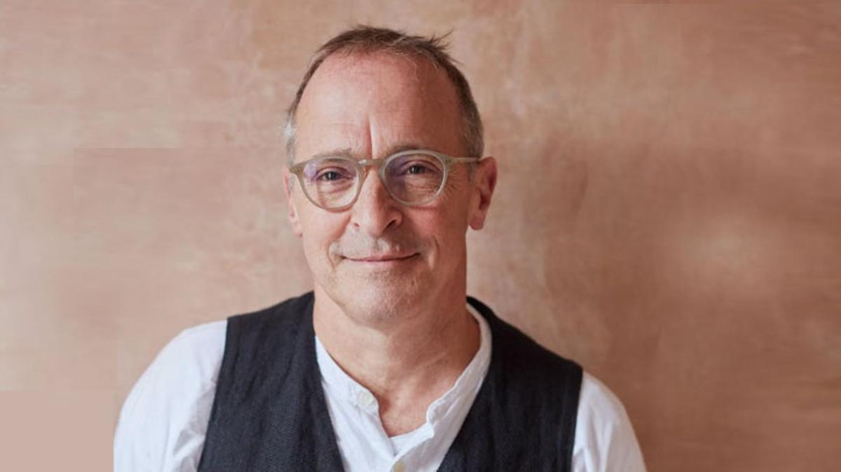 El escritor estadounidense David Sedaris.