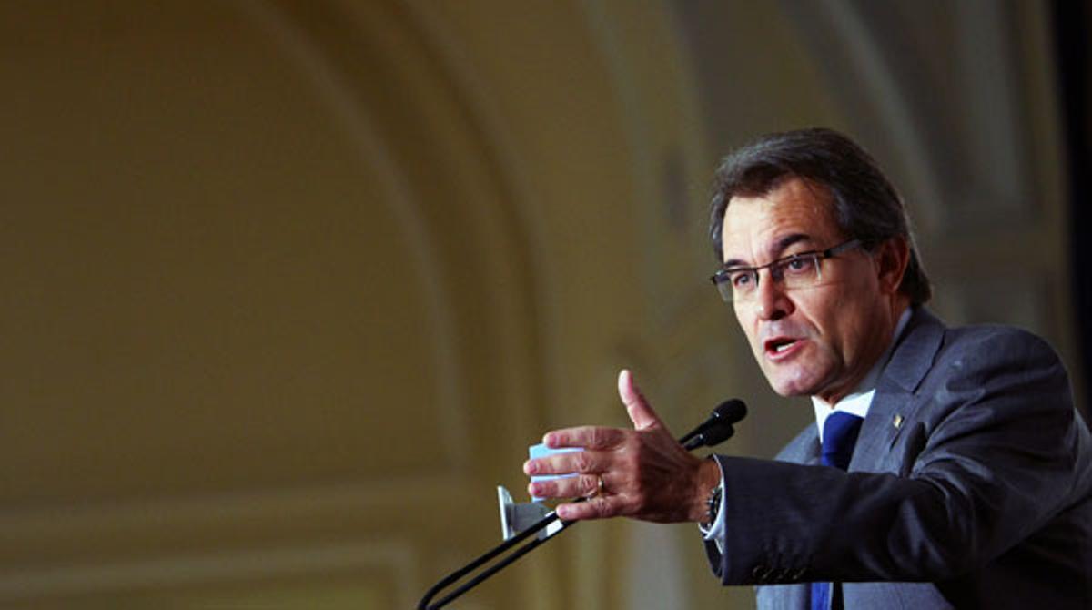 Resumen de la intervención del presidente de la Generalitat, Artur Mas, durante el Fórum Nueva Economía celebrado este jueves en Madrid.