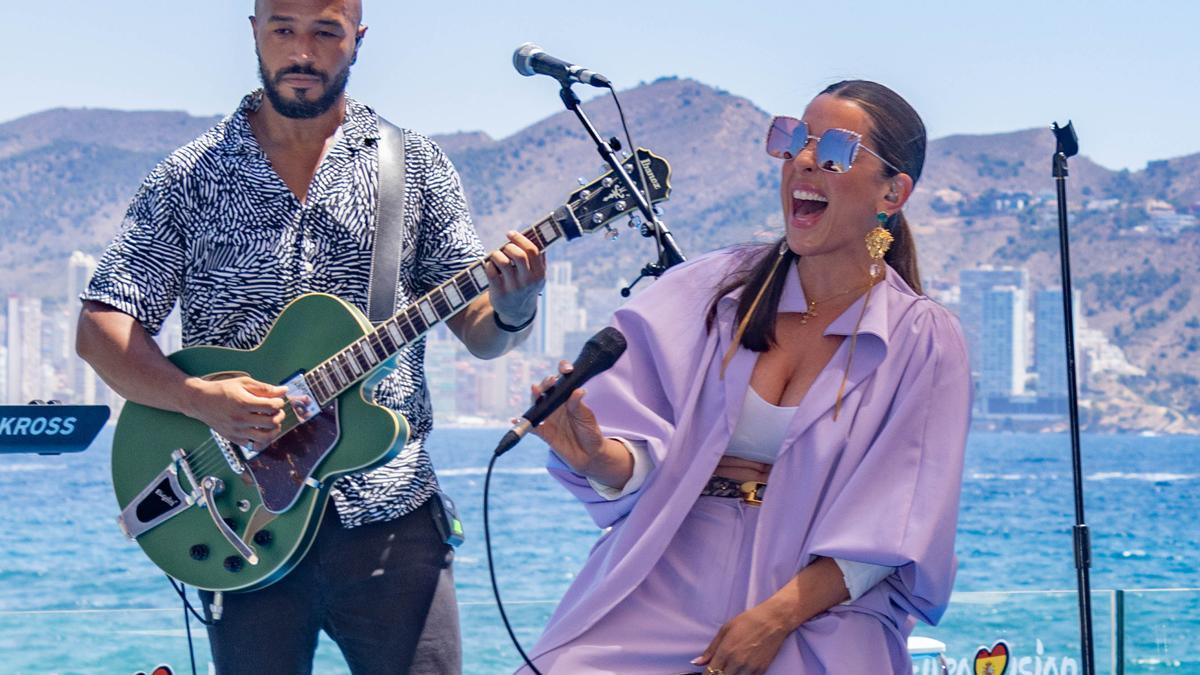 """Ruth Lorenzo, sobre el evento de RTVE en Benidorm: """"Será un gran reto para la casa y los artistas"""""""