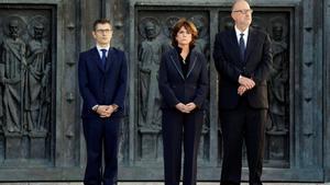 """Así vivió la ministra Delgado la exhumación de Franco: """"Me he abstraído de cualquier comentario"""""""
