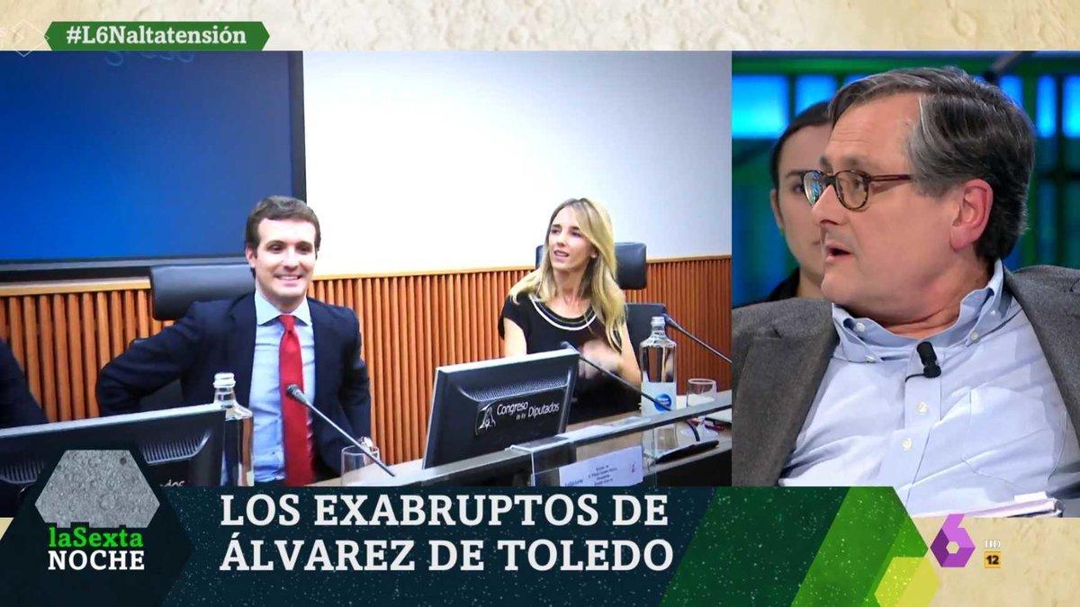 """Francisco Marhuenda, muy crítico con Álvarez de Toledo por su ataque a laSexta: """"Me ha defraudado"""""""