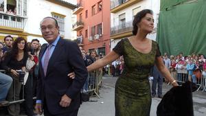 Curro Romero y Carmen Tello, en una imagen de archivo.