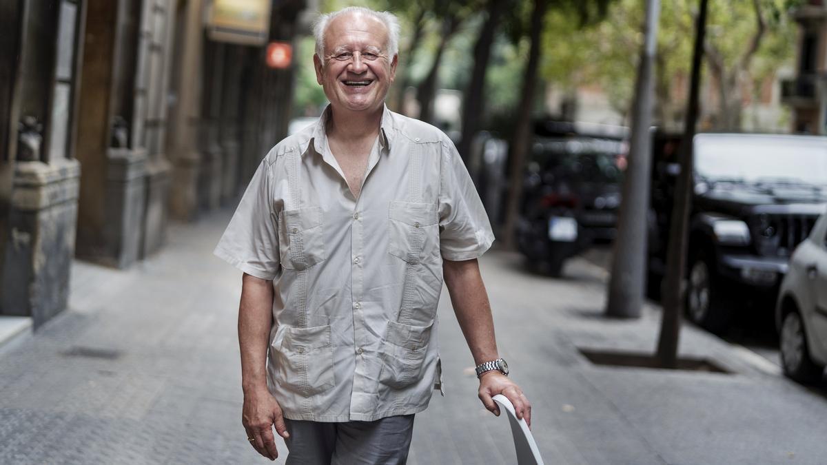 Juan Echanove, a principios de este mes, en Barcelona.