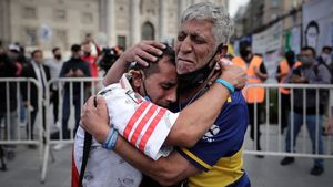 Hinchas de Boca Juniors y River Plate, dos rivales históricos, no tienen consuelo.