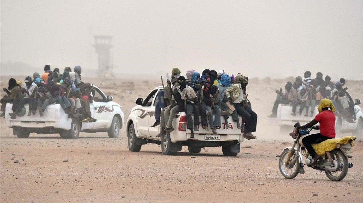 Migrantes en Níger.