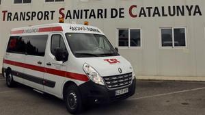 Els sindicats convoquen vaga en l'empresa d'ambulàncies Transport Sanitari de Catalunya