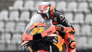El catalán Pol Espargaró (KTM) ha sido hoy, en Austria, el más veloz en MotoGP.
