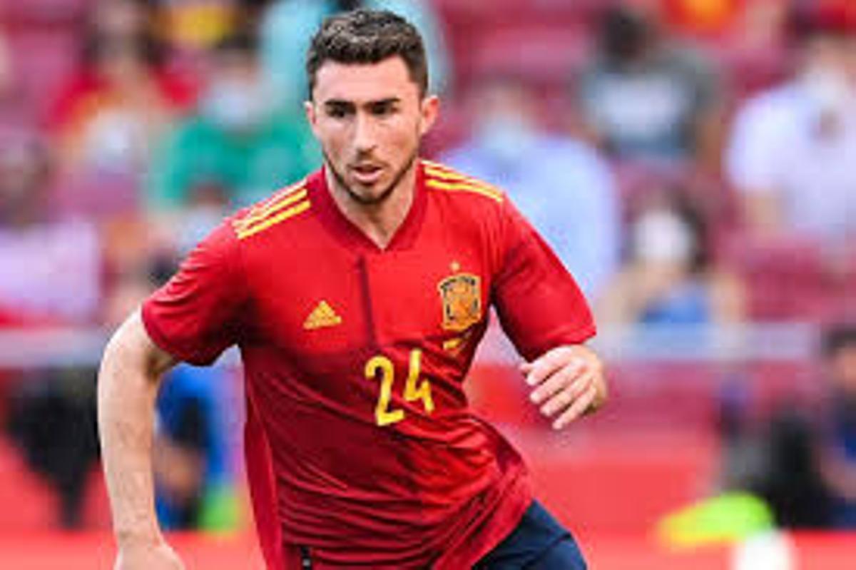 Laporte en un encuentro con la selección española