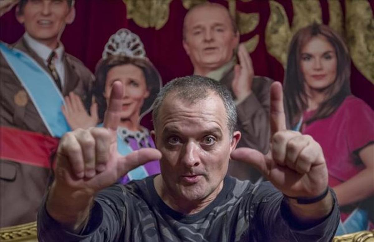 El actor y cómico Toni Albà.