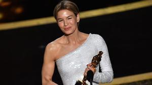 Oscars 2020. Renée Zellweger se lleva el Oscar a mejor actriz protagonista.