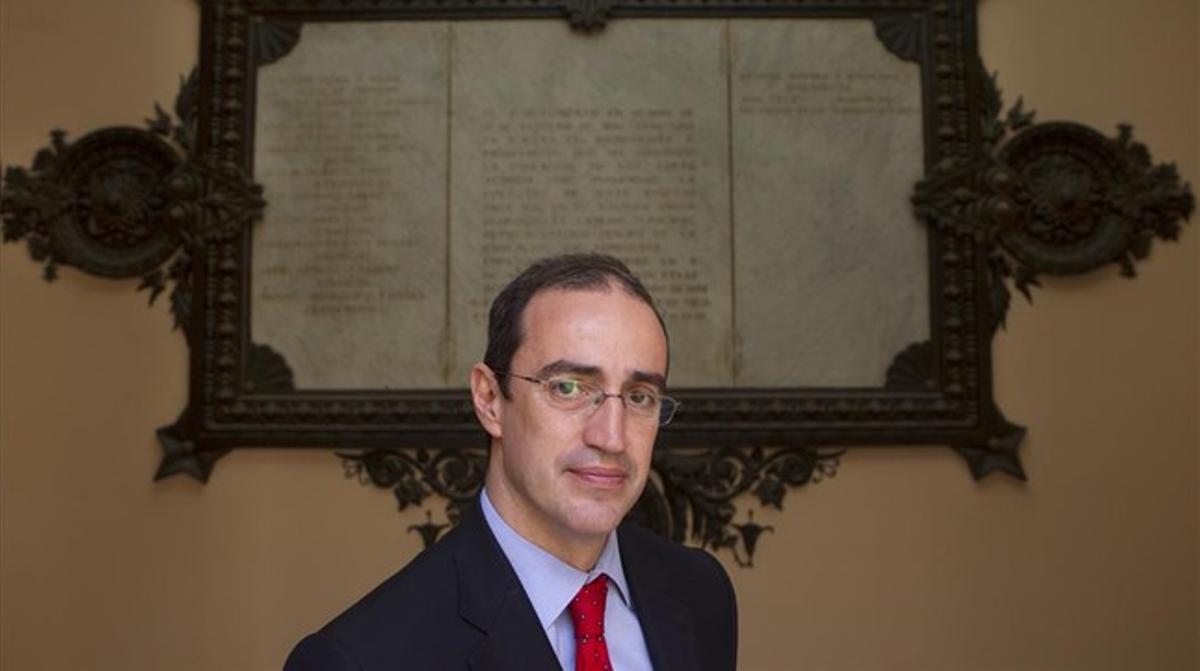 El escritor y exconcejal Antoni Vives.