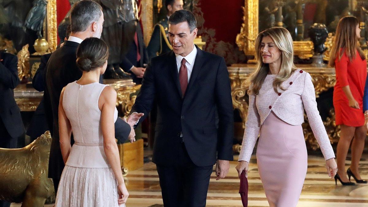 La Casa Reial aclareix que Sánchez va seguir les seves indicacions a la recepció