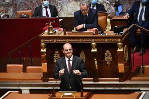 El primer ministro francés, Jean Castex.
