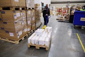 Catalunya recibe este lunes 31.800 dosis de AstraZeneca.
