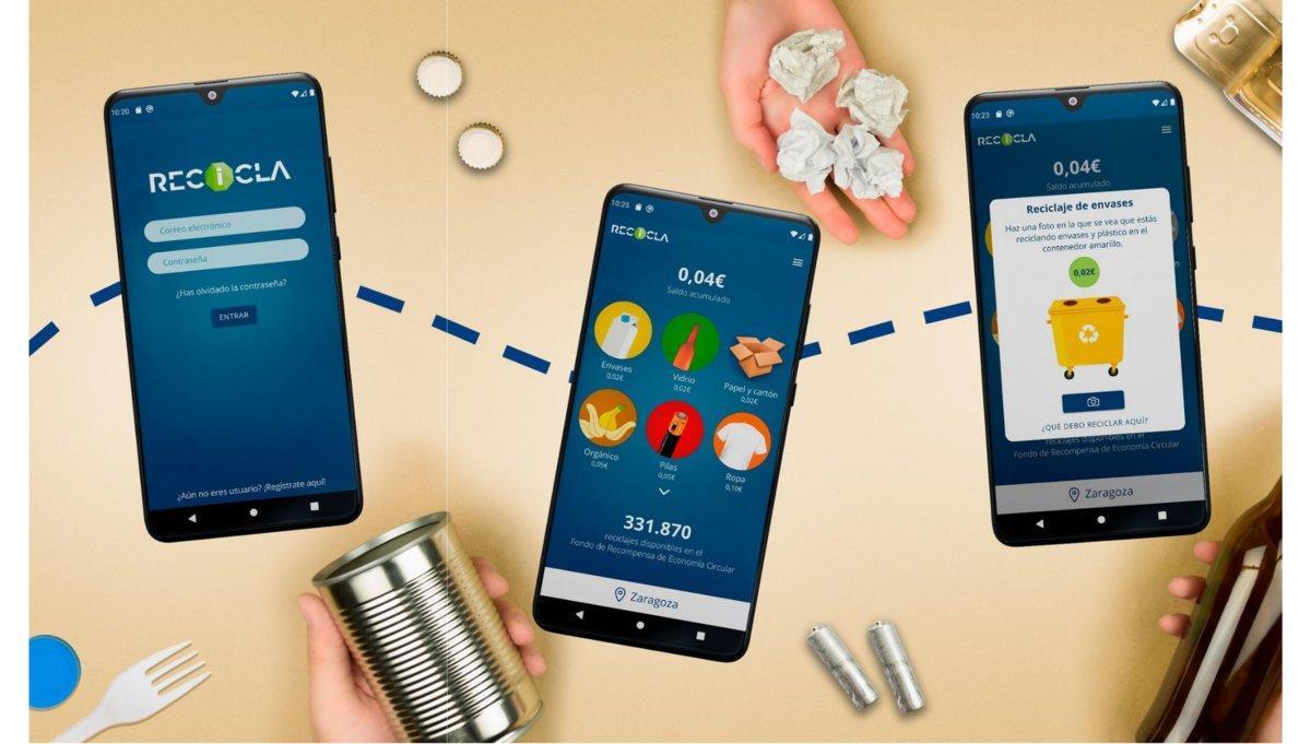 Recicla, la aplicación móvil que te da dinero si separas residuos