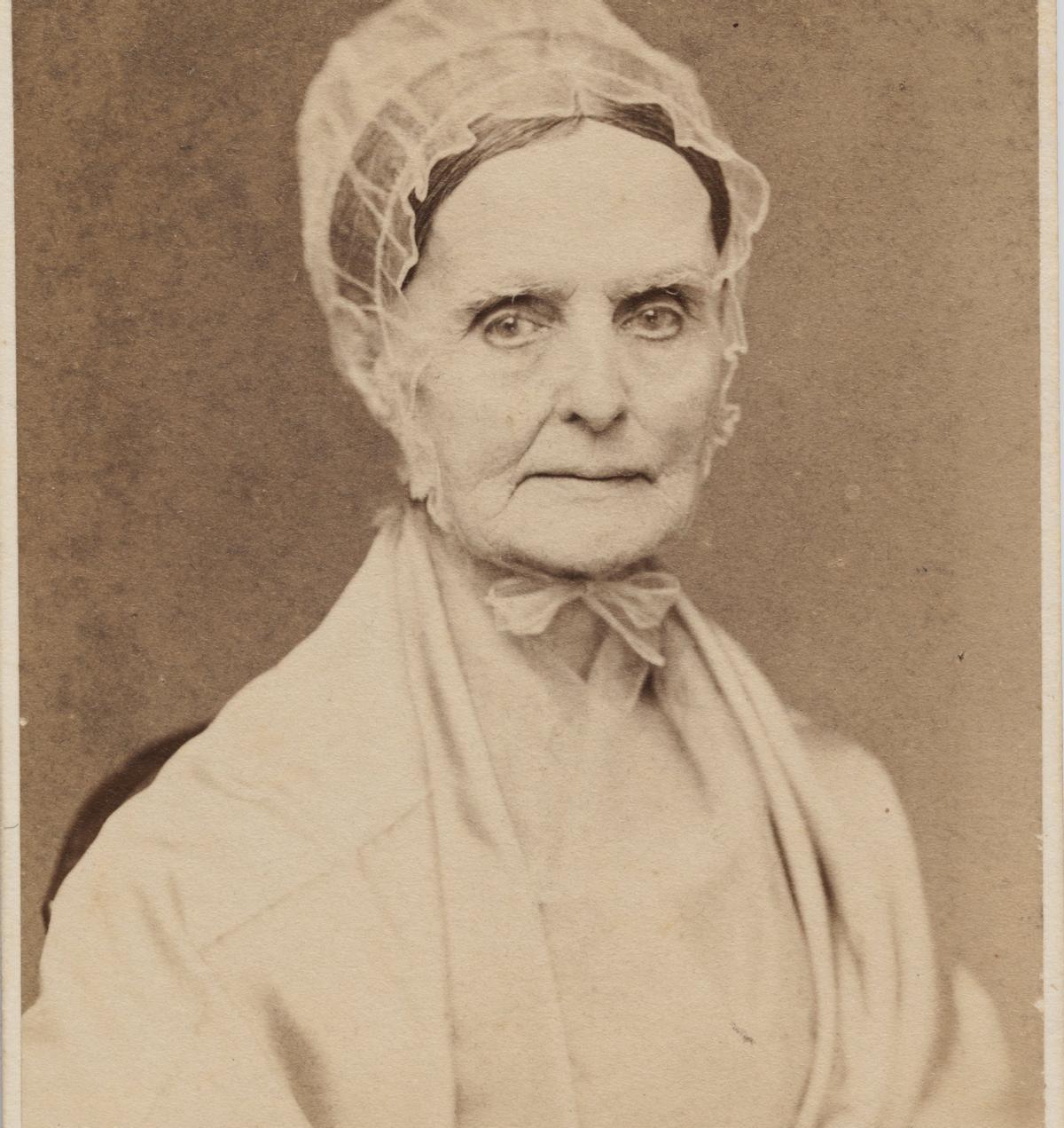 Lucretia Coffin Mott, una de las impulsoras de la convención de Seneca Falls.