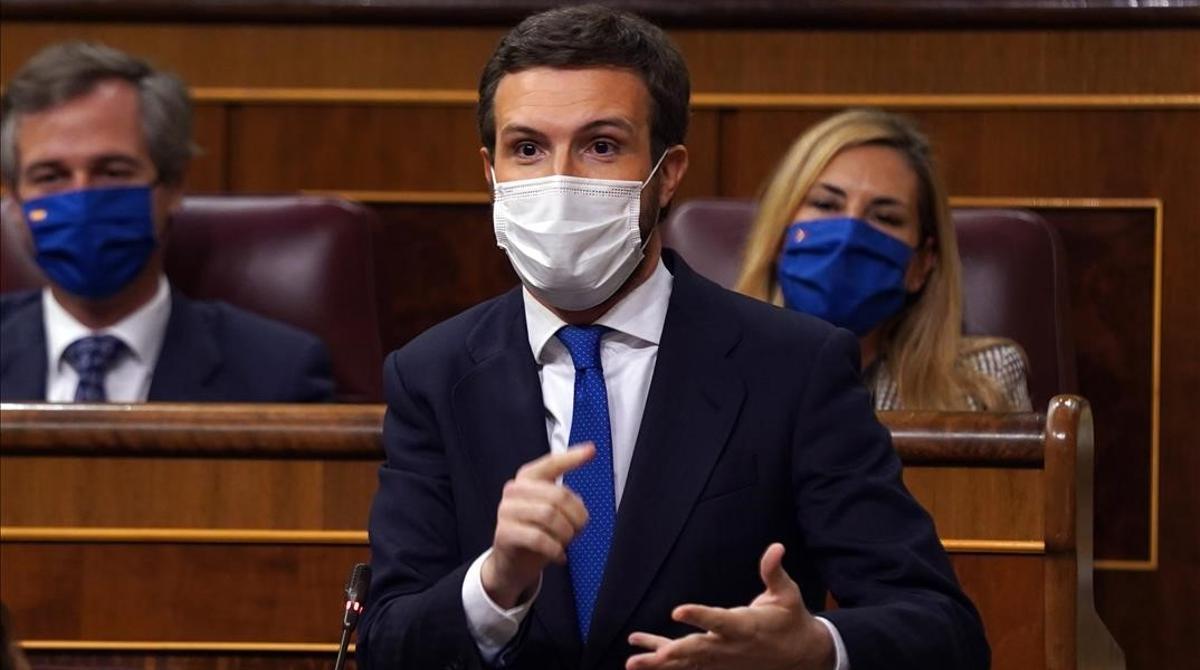 Casado: Si Sánchez no para los pies a Iglesias se hace corresponsable.