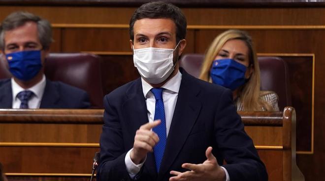 Casado: Si Sánchez no para los pies a Iglesias se hace corresponsable