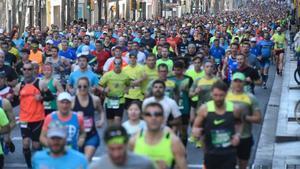 El 15 de març se celebra la Marató de Barcelona 2020