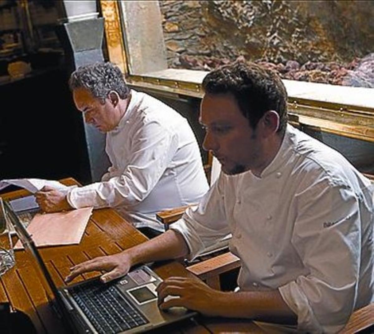 Ferran y Albert Adrià.