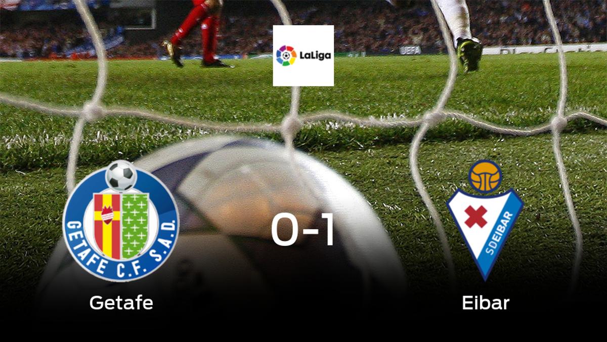 El Eibar logra una ajustada victoria frente al Getafe (0-1)