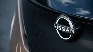 Logo de Nissan en el nuevo Ariya