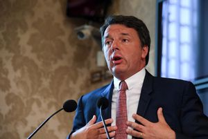El líder de Italia Viva, Matteo Renzi.