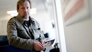 El periodista Luis Rendueles, con su libro 'Territorio negro: Crímenes reales del siglo XXI'