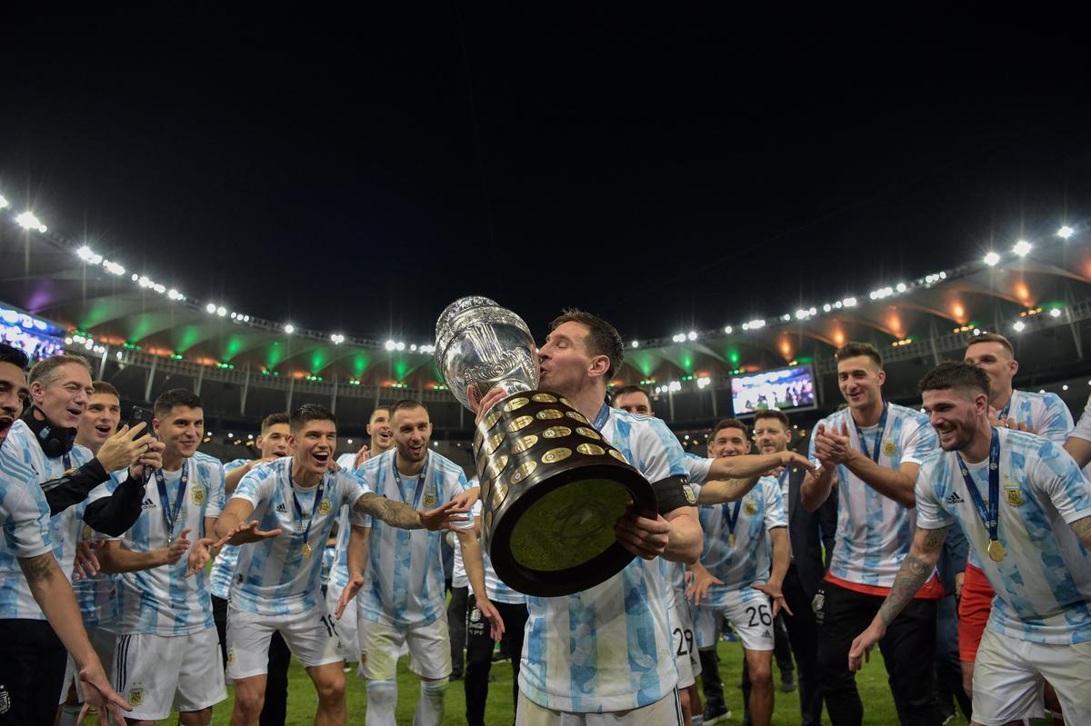 L'Argentina va guanyar la Copa Amèrica i Leo Messi va acabar amb el seu malefici de sequeres amb la selecció major