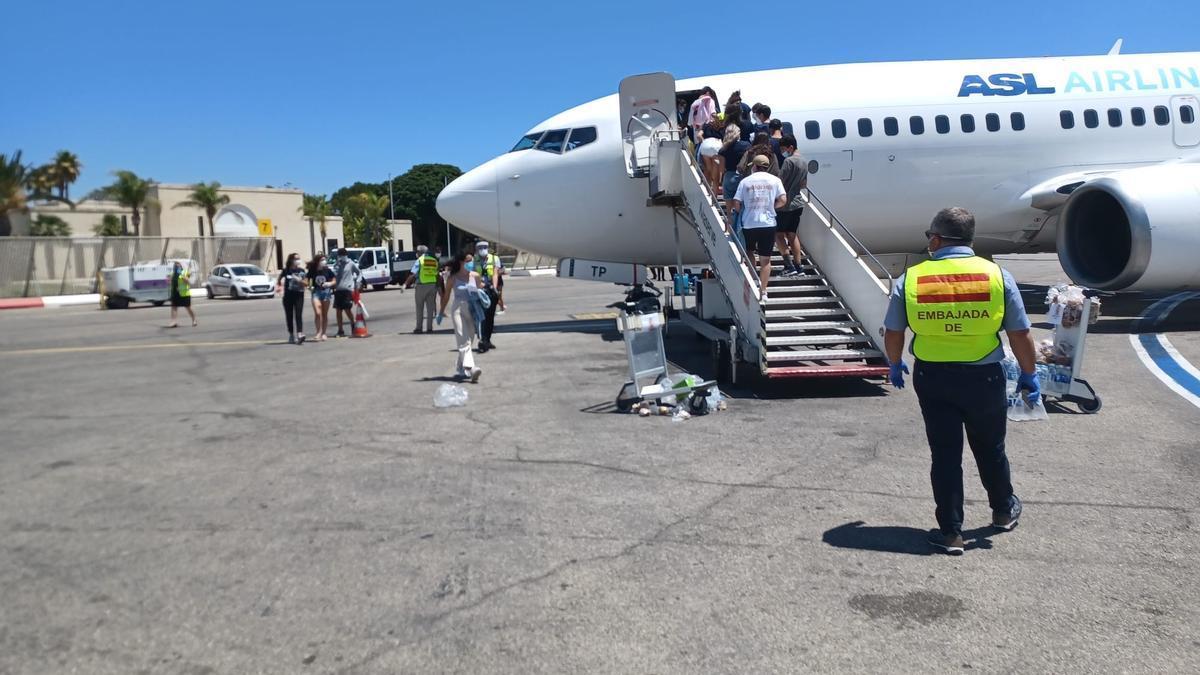 Los menores positivos que guardaban cuarentena en Malta regresan a España, este viernes.
