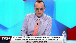 """Risto, sobre el cambio de sede del PP: """"Una cortina de humo para no hablar del descalabro en Catalunya"""""""