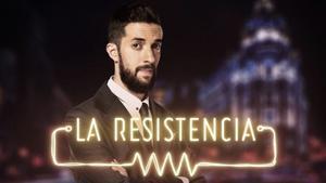 David Broncano en el cartel de 'La Resistencia'. /MOVISTAR +