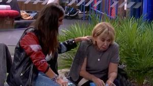 'GH VIP': Mila Ximénez vomita en directe després que anunciessin la salvació d'Hugo Castejón