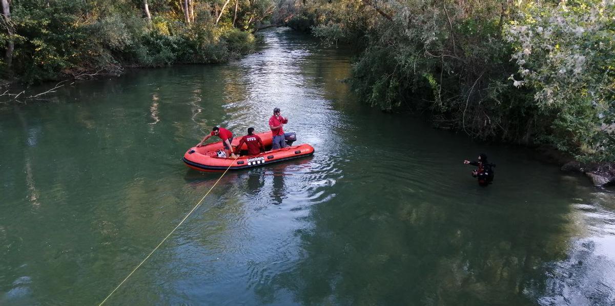 Troben mort el nen desaparegut al riu Segre