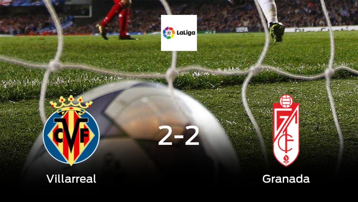 El Villarreal y el Granada firman tablas en el Estadio de La Ceramica (2-2)