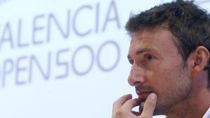 Juan Carlos Ferrero, a València.
