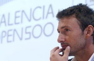 Juan Carlos Ferrero, en Valencia.