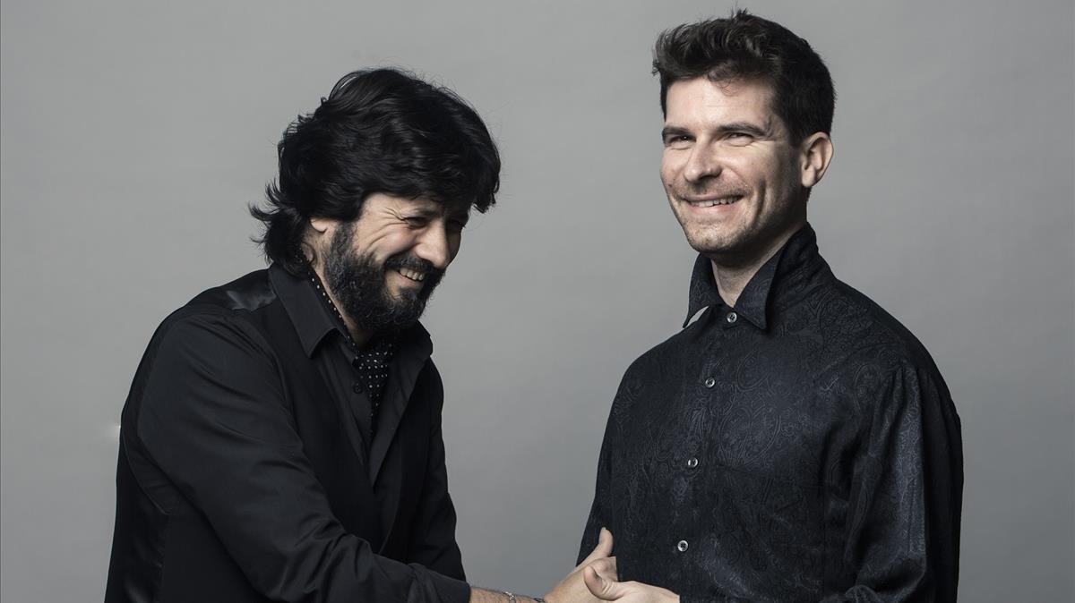 Chicuelo y Marco Mezquida.