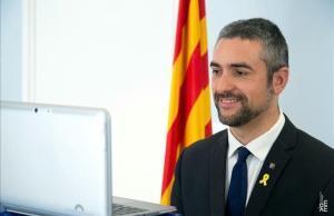 El  'conseller' d'Acció Exterior, Relacions Institucionals y Transparència, Bernat Solé.