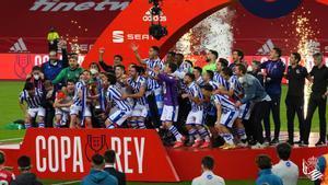 La final de la Copa del Rei no té rival i s'alça com el més vist del dia
