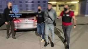 Así fue detenido un peligroso fugitivo en el vestíbulo de un hotel de Barcelona