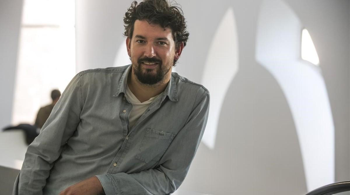 Pedro Aguilera, director de 'Demonios tus ojos', en el CCCB.